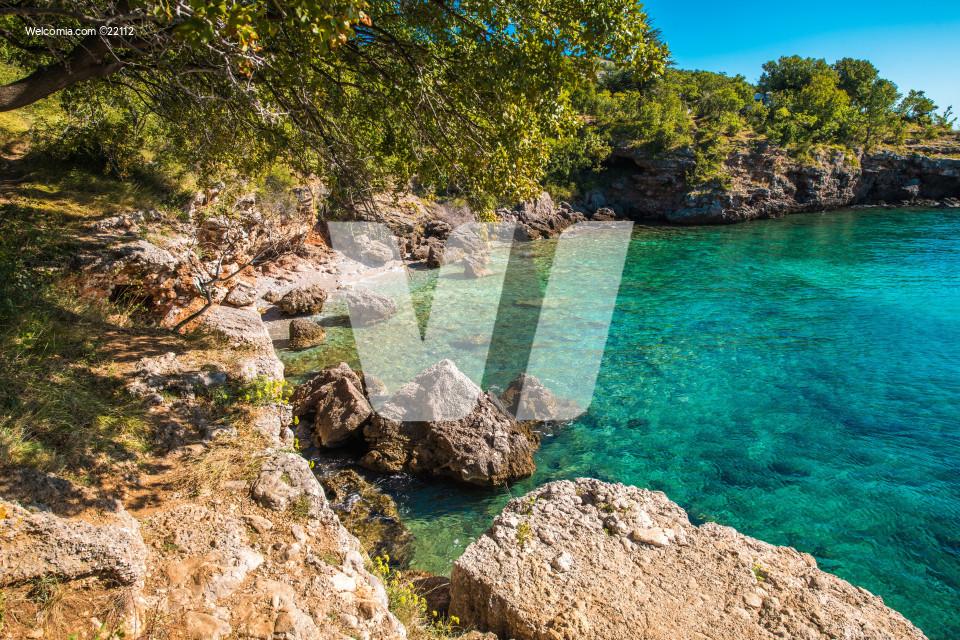 Scenic Adriatic Sea Bay