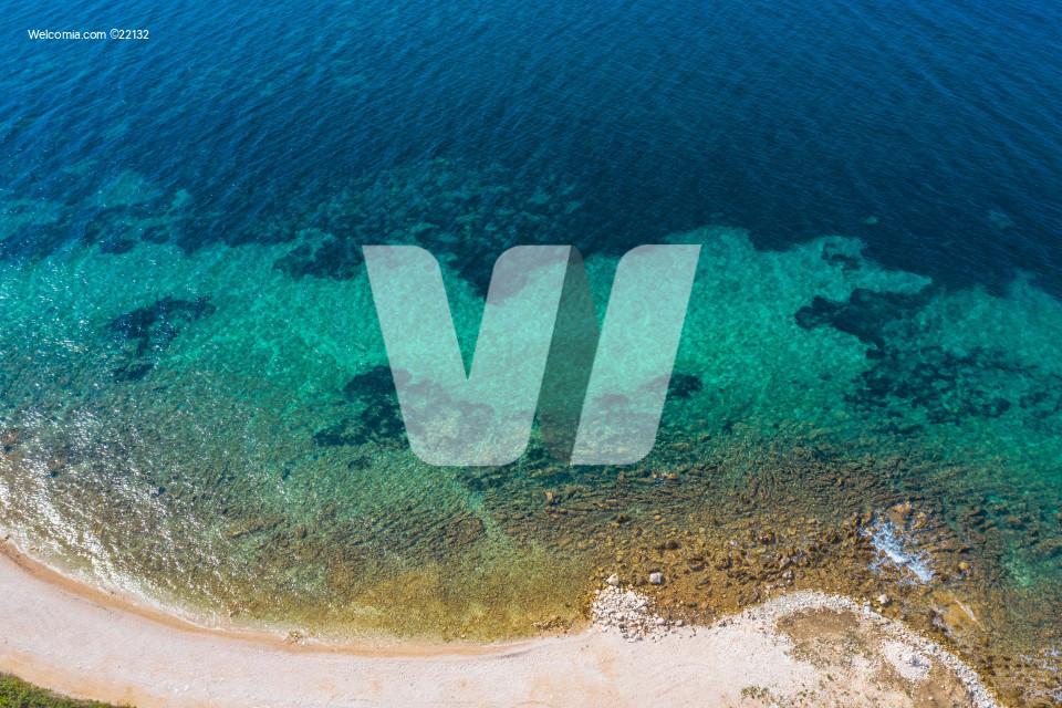 Scenic Beach Aerial Photo