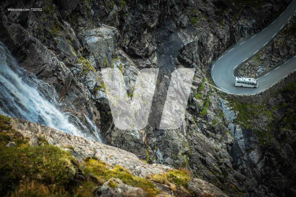 Scenic Camper Road Trip