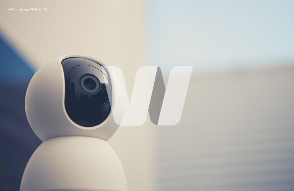 Small Interior PTZ Surveillance Camera