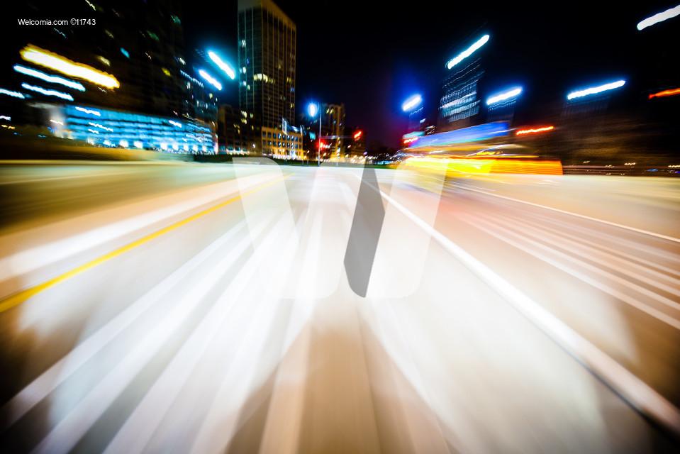 Speeding Motion Blur