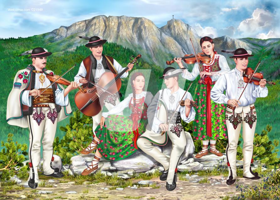 Traditional Zakopane Band