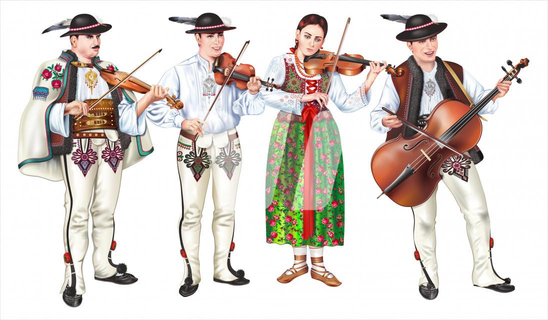 Traditional Zakopane Folk Band