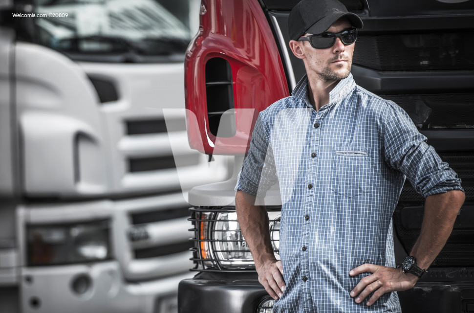 Truck Driver Transport Industry