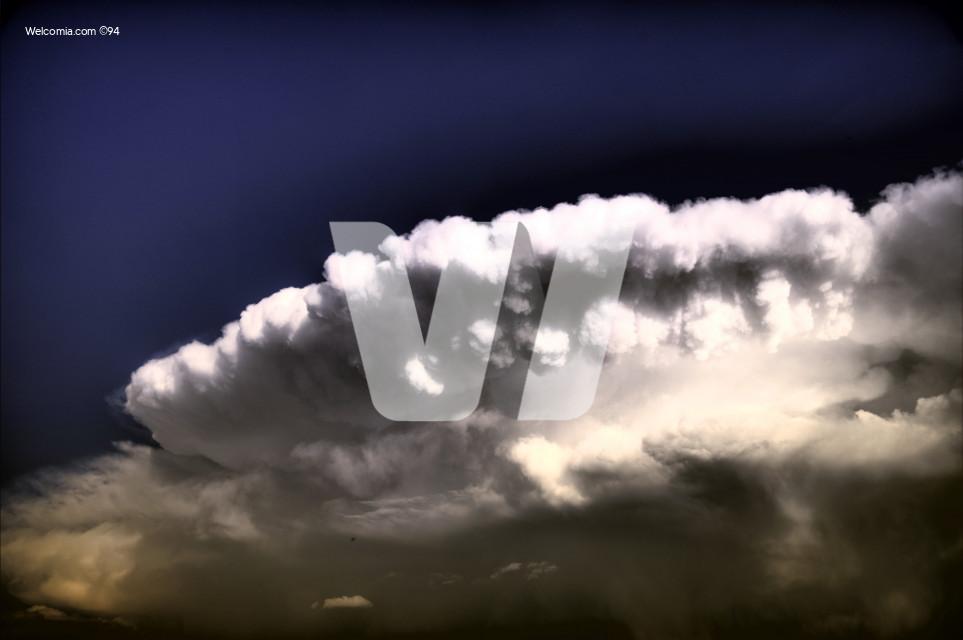 UFO Storm Cloud