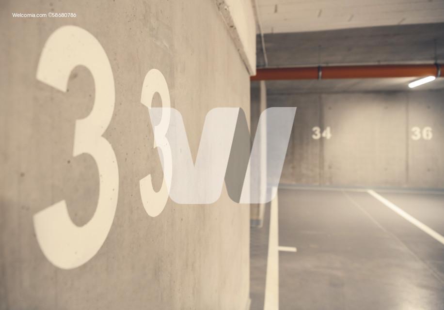 Underground Car Garage Spaces