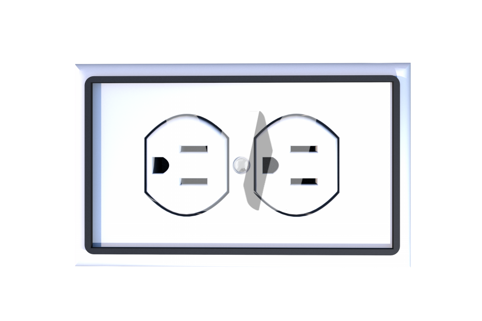 USA Power Outlet PNG