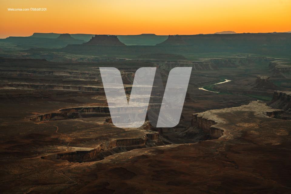 Utah Canyonlands National Park Raw Landscape