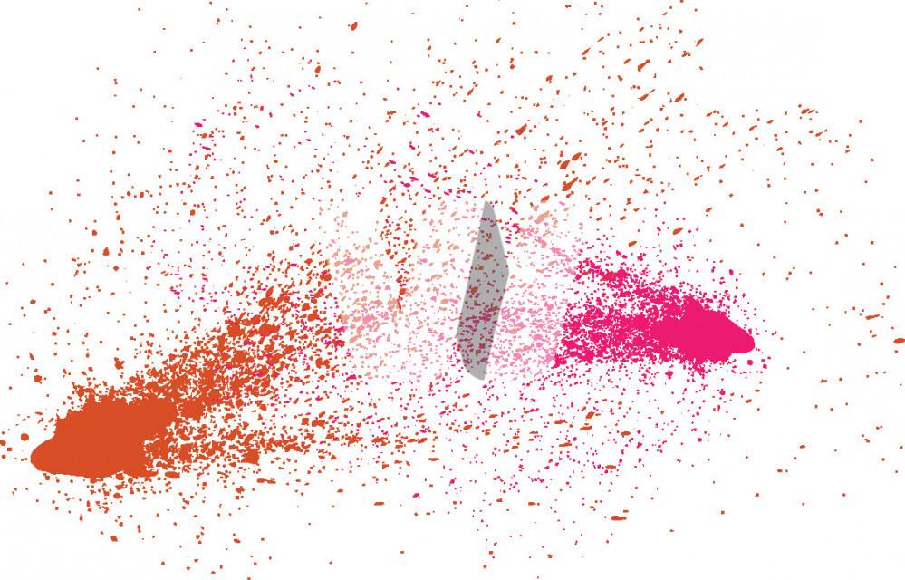 Vector Ink Splashes
