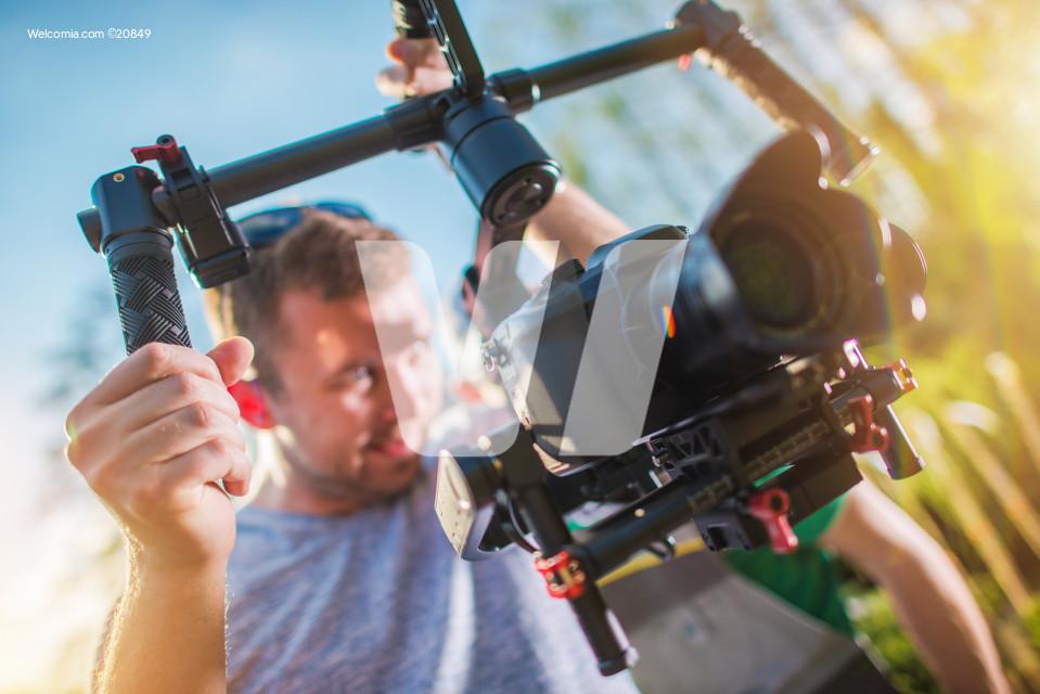Video Camera on a Gimbal