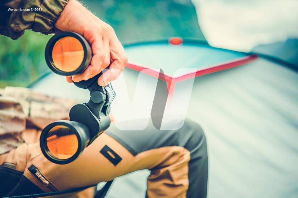 Wildlife Viewing with Binoculars