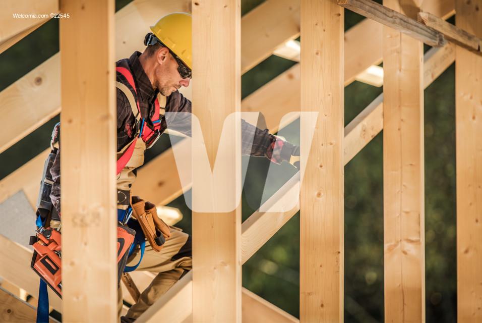 Wood Construction Job