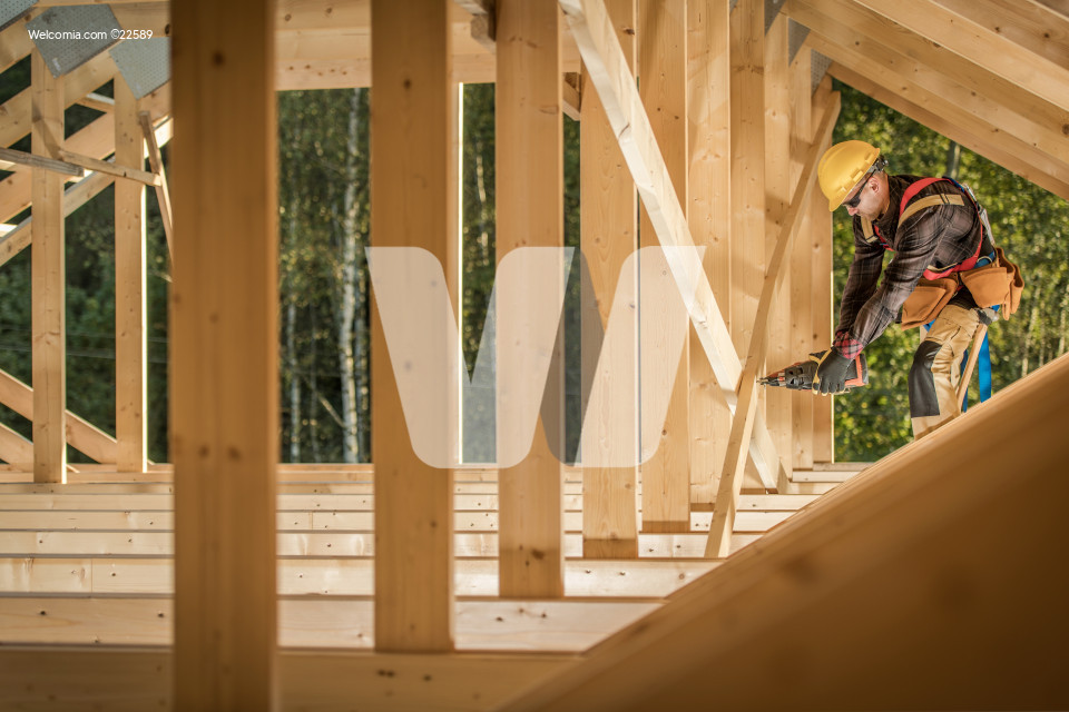 Wood Skeleton Frame Job