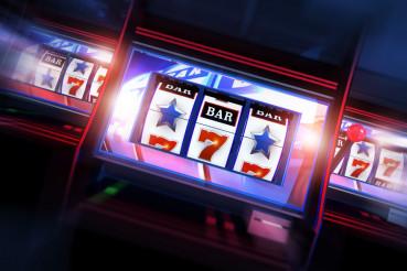 3D Casino Slots Concept