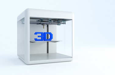 3D Printer Illustration