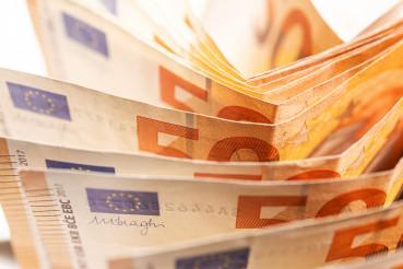 Euro Money Concept