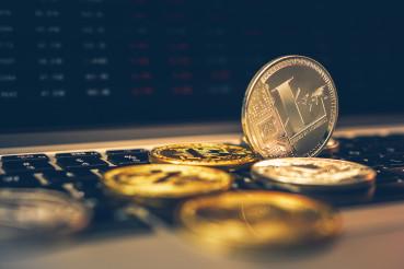 Silver Litecoin Crypto Coin
