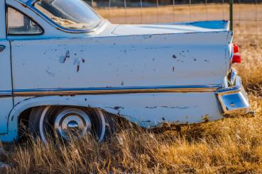 Rusty Abandoned Oldtimer