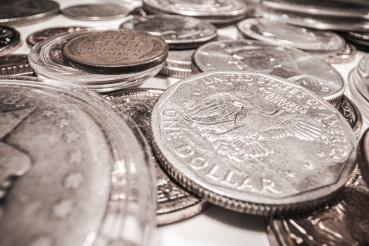 American Silver Coin Currency