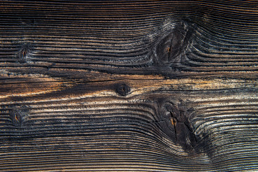 Close Up Of Old Gray Timber Board.