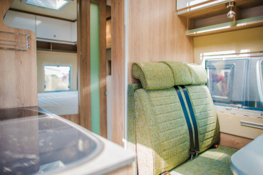Inside Modern Camper Van