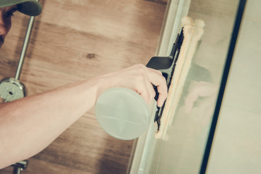 Interior Glass Cleaning