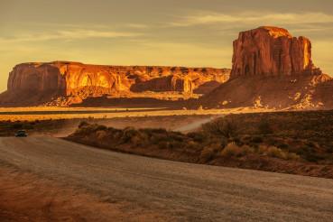 Rural Arizona Gravel Road