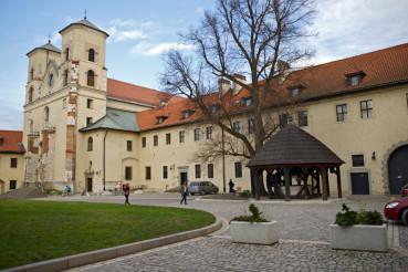 Abbey in Tyniec, Poland