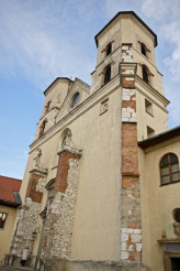 Abbey Towers in Tyniec