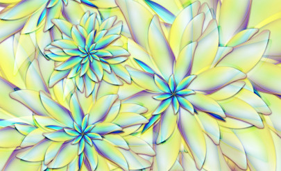 Abstract Flowers Illustration