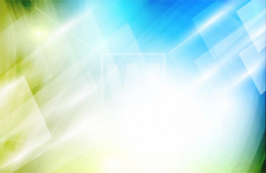 Abstract Green-Blue Vector