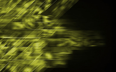 Abstract Green Dark Background