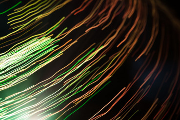 Abstract Lights Motion Blur