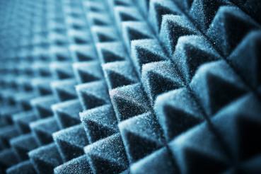Acoustic Foam Closeup