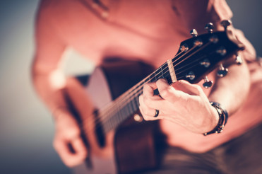 Acoustic Guitar Musician