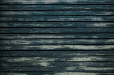 Aged Blue Paint Wooden Wall