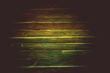 Aged Reclaimed Wood Wall
