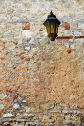 Aged Wall Lantern