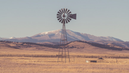 Aged Windmill in Colorado
