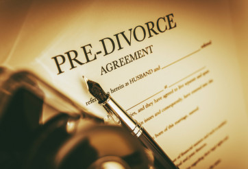 Agreement of Pre-Divorce