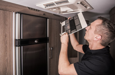 Air Condition Filter Cleaning