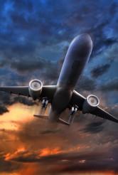 Airliner Take Off Illustration