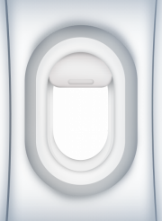 Airliner Window PNG