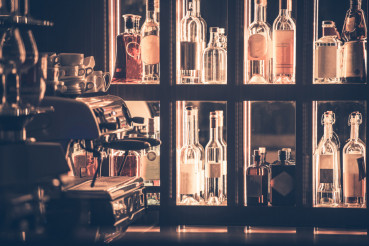 Alcohol and Coffee Bar