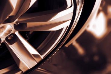 Alloy Car Wheel Closeup