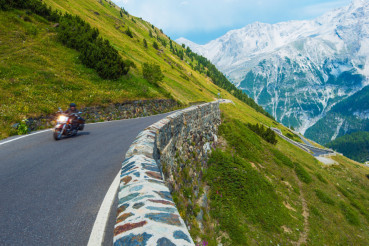 Alpine Road Biker