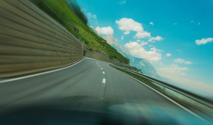 Alpine Road Speeding