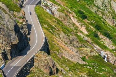 Alpine Road Summer Bike Trip