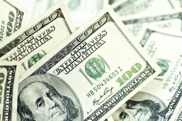 American Dollars Closeup