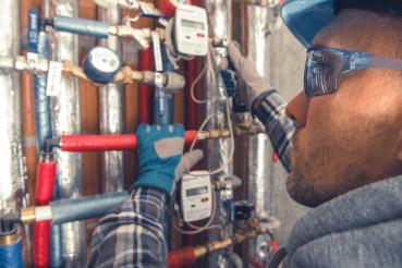 Apartments Heating Distribution Valves Check
